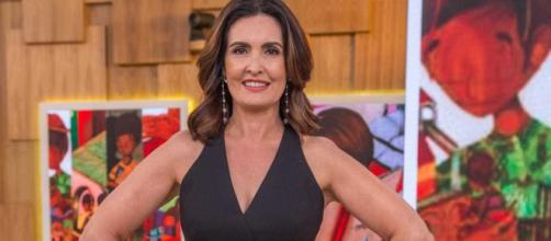 Fátima Bernardes celebra aniversário (Reprodução/TV Globo)