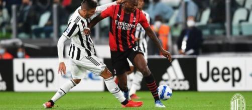 Juventus - Milan finisce in parità 1 - 1. Foto di: acmilan.com