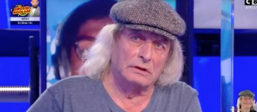 René Malleville dans l'émission TPMP. Source : capture d'écran C8