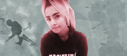 Saman Abbas, una lettera anonima invita a cercarla in acqua.