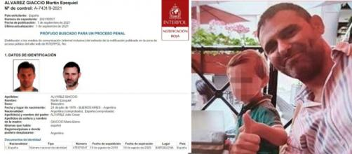 La orden de captura internacional del padre del niño asesinado en el hotel de Barcelona (Interpol)