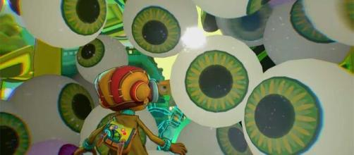 'Psychonauts 2' allows players to face their inner demons (Image source: Screenshot/Youtube/DoubleFineProd)