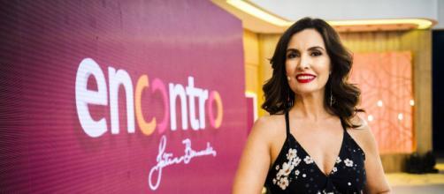 Fátima Bernardes ganhou carinho de famosos (Reprodução/TV Globo)
