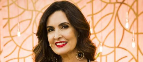Fátima Bernardes recebe homenagens (Reprodução/TV Globo)