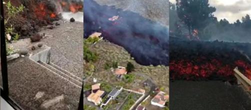Imágenes de la lava en La Palma (RRSS)