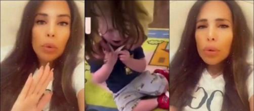 Kim Glow choquée : elle partage la vidéo d'un enfant obligé à porter un masque à l'école.