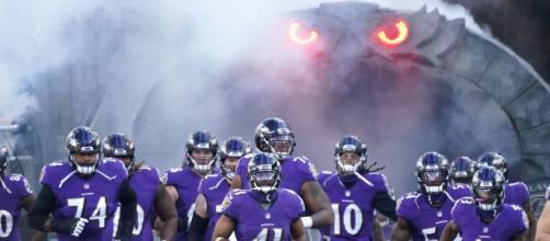 Les Ravens remporte leur premier succès en NFL 2021/2022 contre les Chiefs - Source : capture d'écran, Twitter