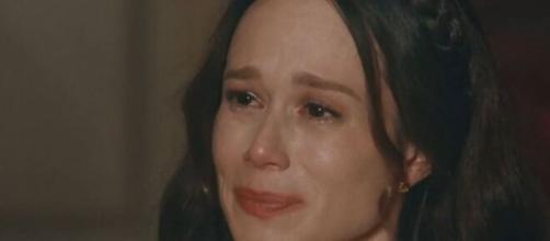 Luísa em 'Nos Tempos do Imperador' (Reprodução/TV Globo)