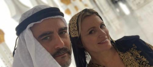 Matías Urrea y Ainhoa Arteta en su luna de miel (Instagram/@matias_urrea_c)