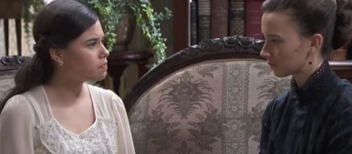 Una vita, trame Spagna: Camino confessa ad Anabel di aver avuto una storia con Maite.