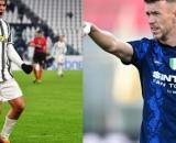Dybala della Juventus e Perisic dell'Inter.