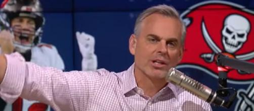 Cowherd says Brady is entering a fascinating space in his career (Image source: The Herd with Colin Cowherd/YouTube)