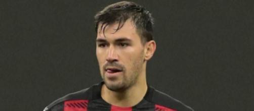 In foto Alessio Romagnoli, difensore del Milan.