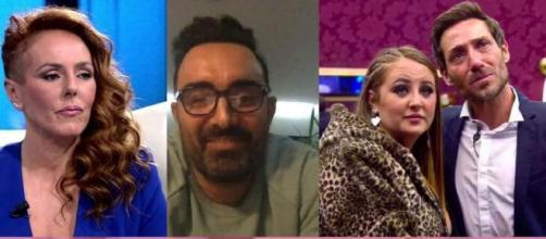 Rocío Carrasco, Fidel Albiac y Antonio David y Rocío Flores se verán las caras en el Juzgado el próximo mes de mayo (Telecinco)