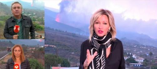 Susanna Griso ha vivido momentos de mucho miedo en La Palma (@atresmediacom)