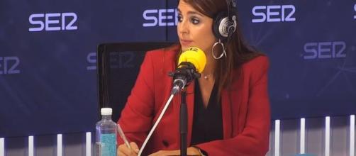 Marta Vigara en entrevista con Àngels Barceló sobre su experiencia en el Hospital Clínico de Madrid. (Captura 'Hoy por hoy' en YouTube)