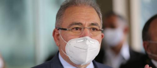 Ministério da Saúde informou nesta terça-feira (21) que Queiroga está com Covid-19 (Agência Brasil)