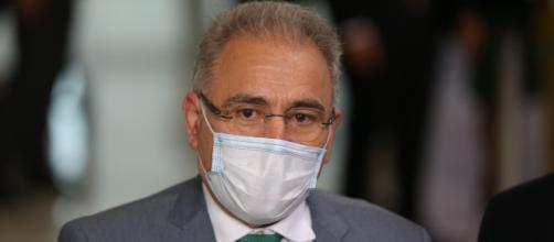 Ministro Queiroga acompanhava Bolsonaro em Nova York (Fabio Rodrigues Pozzebom/Agência Brasil)