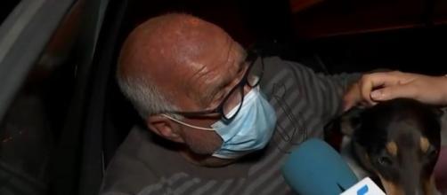 Pedro lleva ya dos noches durmiendo en el coche - (Telecinco)