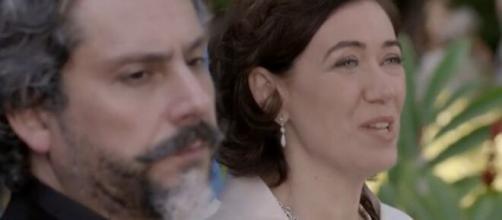 Zé e Marta em 'Império'. (Reprodução/TV Globo)