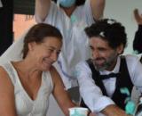 Un paciente ingresado en el hospital se casa (Hospital Vall d'Hebron)