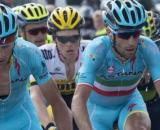 Vincenzo Nibali ha già corso con la Astana dal 2013 al 2016