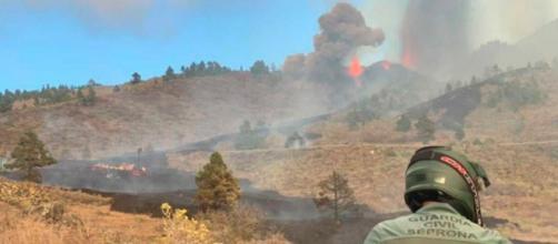 El volcán de La Palma ha provocado la evacuación de más de 5.000 personas (Twitter, guardiacivil)