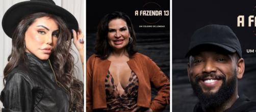 Enquete UOL acena com favoritismo de Nego do Borel em 'A Fazenda 13' (Fotomontagem/Reprodução/Record TV)
