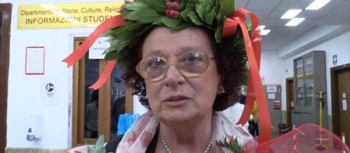 Il grande percorso di Rosanna, laureatasi a 72 anni