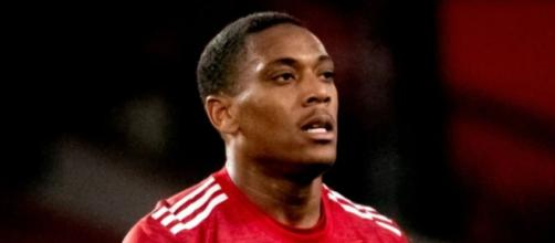 In foto Anthony Martial, punta del Manchester United.