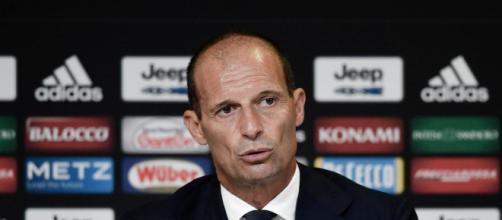 In foto Massimiliano Allegri, allenatore Juve.