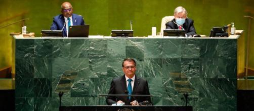 Discurso de Bolsonaro na ONU é criticado (Alan Santos/PR)