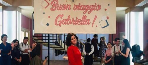 Il Paradiso delle signore 6, Gabriella esce di scena: l'attrice conferma sui social l'addio alla soap.