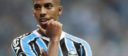 Jean Pyerre tem futuro incerto no Grêmio (Lucas Uebel/Grêmio)