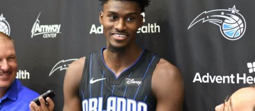 Jonathan Isaac missed all of last season recovering from a torn ACL (Image source: Flickr/Jacob Gralton)