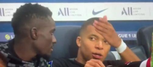 Kylian Mbappé furieux, il reproche à Neymar de ne pas lui faire de passes (capture YouTube)