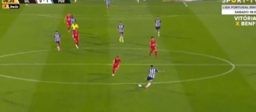 Le bijou de Mehdi Taremi pour Porto (capture SPORT TV Portugal)