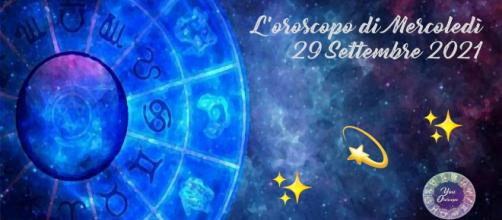 Oroscopo e previsioni della giornata di mercoledì 29 settembre 2021.