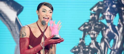 Pablo Vittar recebe prêmio no MTV Miaw (Arquivo Blasting News)