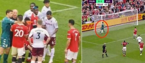 Emiliano Martinez trolle Cristiano Ronaldo (capture YouTube et montage photo)