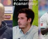 Guardiola dépité par la question d'un journaliste. (crédit Twitter)