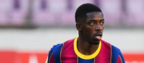 Dembélé, giocatore del Barcellona.