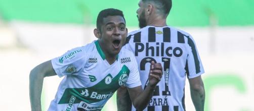 Santos foi atropelado pelo Juventude (Fernando Alves/Juventude)