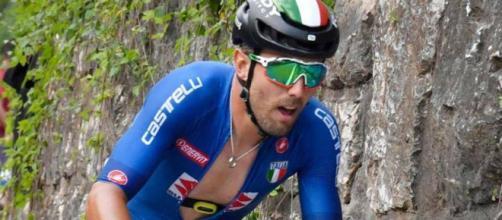 Sonny Colbrelli ha chiuso i Mondiali di ciclismo al decimo posto.
