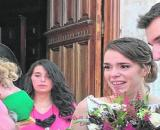Pedro llegando a la boda de su hija (@AmbDeseo)