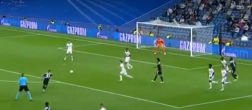 Le Real Madrid surpris par Sébastien Thill. (crédit twitter)