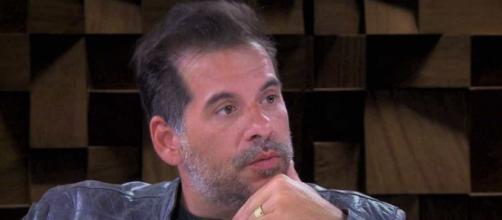 Leandro Hassum recebe homenagens (Reprodução/TV Globo)