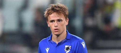 Mikkel Damsgaard, centrocampista della Sampdoria.