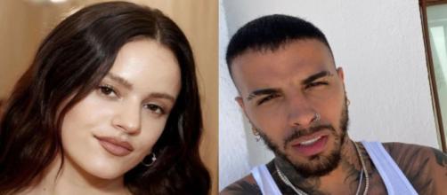 Rosalía y Rauw Alejandro son la nueva pareja del mundo de la música (Instagram/@rosalia.vt y @rauwalejandro)
