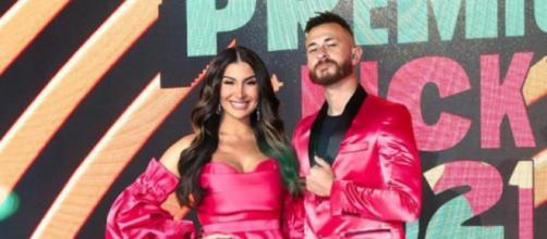 Bianca Andrade e Fred foram os apresentadores do Meus Prêmios Nick 2021 (Reprodução/Instagram/@bianca)